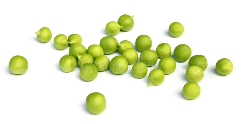 Grüne Erbsen lizenzfreie stockfotografie