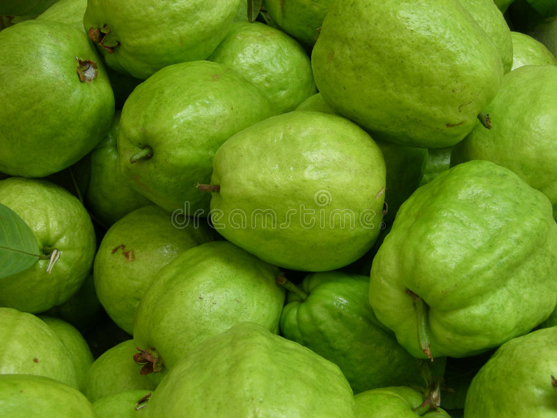 Grüne Frucht stockfotografie