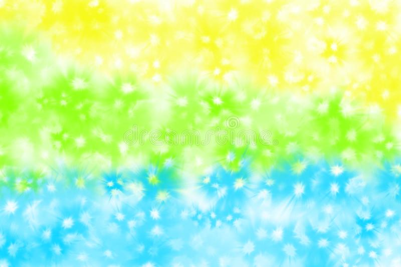 Grüne, gelbe, blaue und weiße Hintergrunddekoration lizenzfreies stockfoto