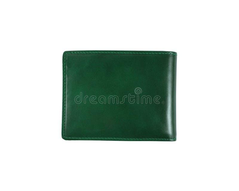 Grüne Geldbörse stockfotos