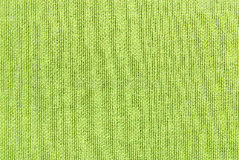 Grüne Gewebebeschaffenheit stockfoto