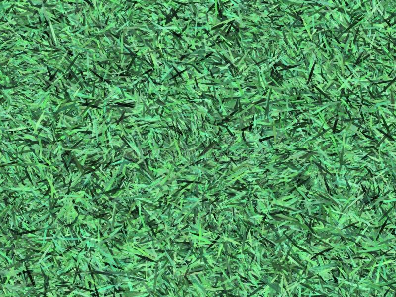 Grüne Gras 3D Grapic Design Textur verwendet als Muster oder Hintergrund, Papier Element in Scrapbook dekorativ stockbild