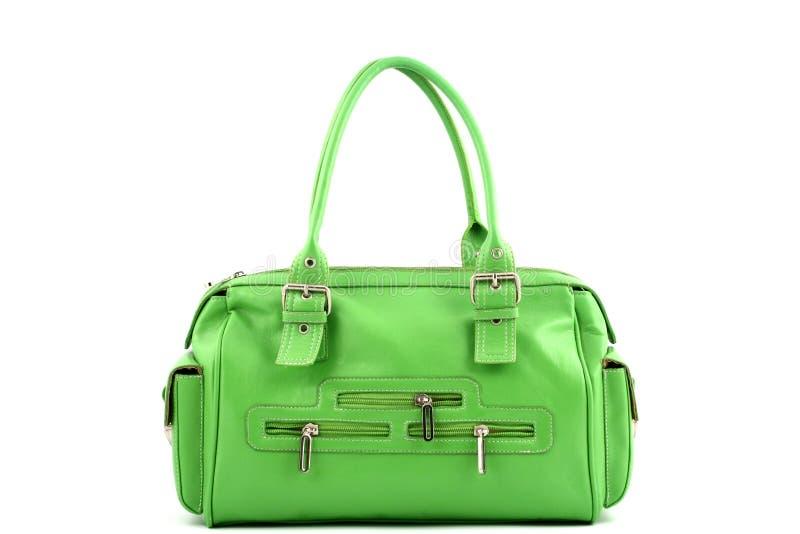 Grüne Handtasche Lizenzfreies Stockbild