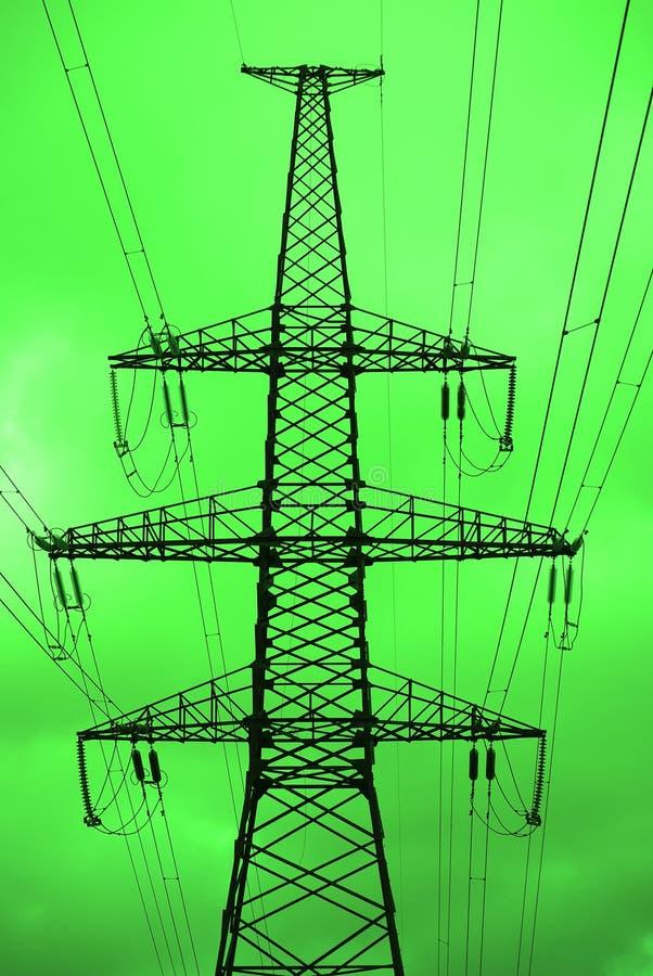 Grüne Leistung. lizenzfreie stockfotografie