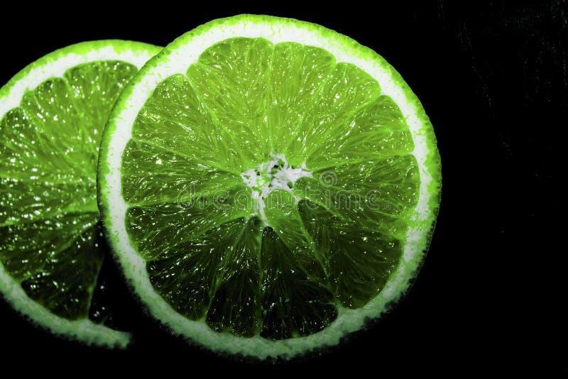 Grüne Orange lizenzfreies stockbild