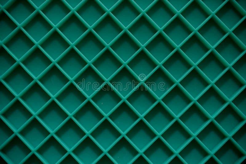 Grüne Plattenmatten-Quadratform stockfotografie