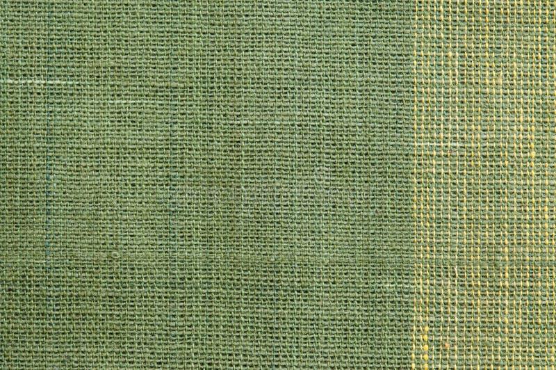 Grüne raue Gewebe-Beschaffenheit lizenzfreie stockfotografie