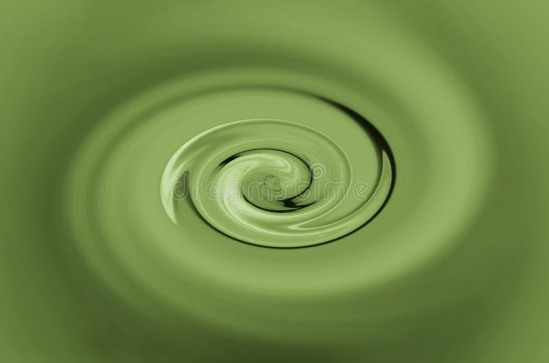 Grüne Rotation lizenzfreie abbildung
