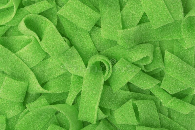Grüne Süßigkeit gummiartig lizenzfreie stockfotos