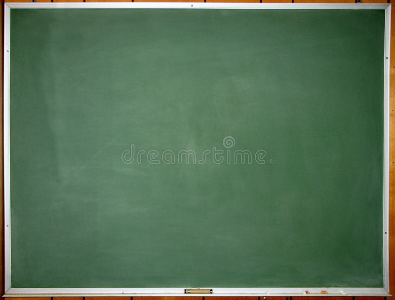 Grüne saubere Tafel stockfotos