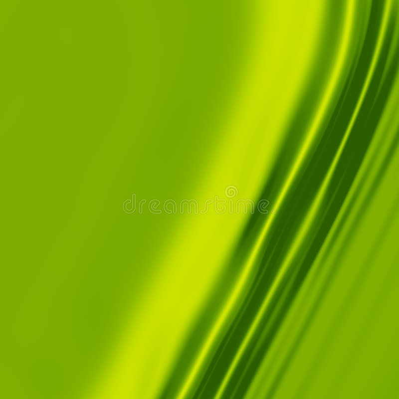 Grüne Seide 1 stock abbildung