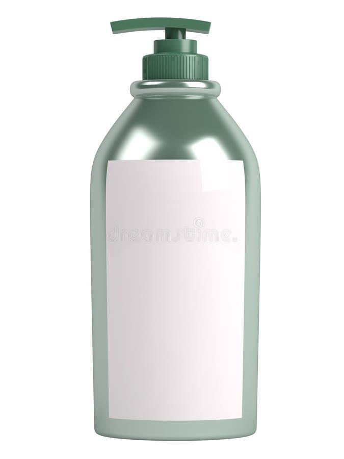 Grüne Shampooflasche vektor abbildung