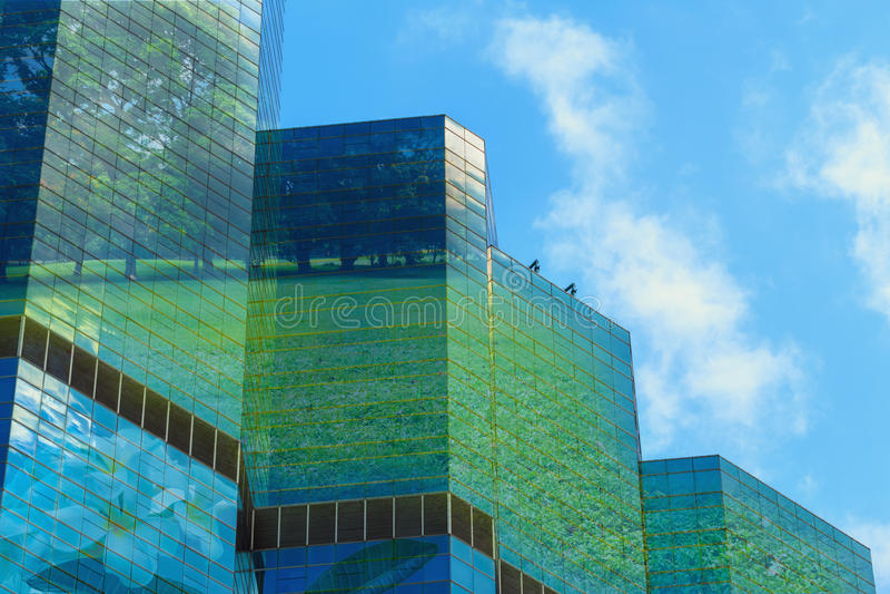 Grüne Stadt, Konzepte stockfotos
