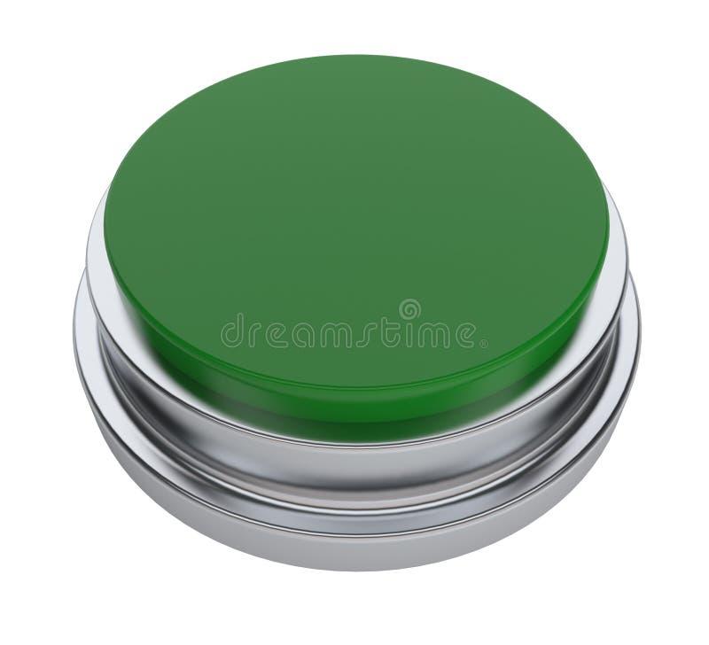Grüne Taste lizenzfreies stockfoto