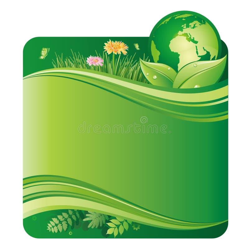 grüne Umgebung stock abbildung