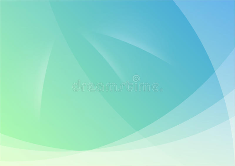 Grüne und blaue abstrakte Hintergrund-Tapete stock abbildung
