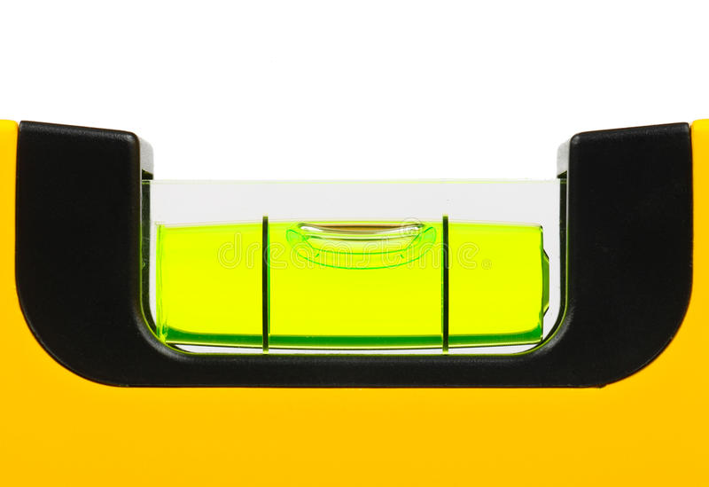Grüne Wasserwaage stockfotos