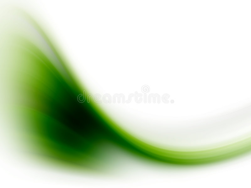 Grüne Welle vektor abbildung