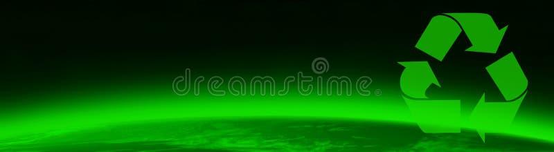 Grüne Welt und Greenpeace stock abbildung