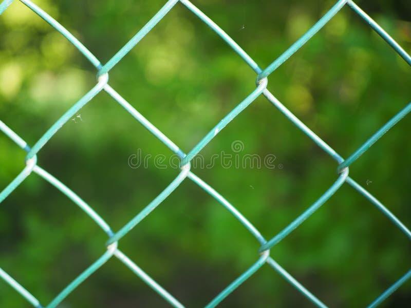 Grüne Zaunfiletarbeit lizenzfreies stockfoto
