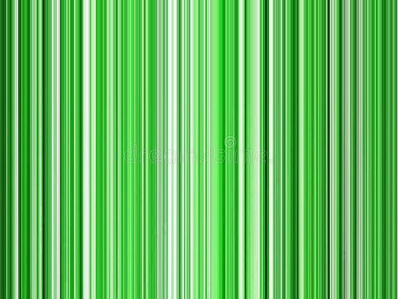 Grüne Zeilen stock abbildung