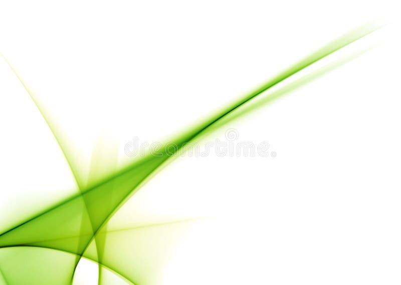 Grüne Zeilen vektor abbildung