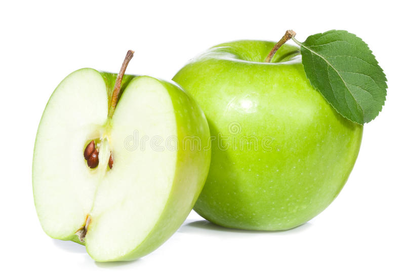 Grünen Sie Apfel lizenzfreie stockfotografie