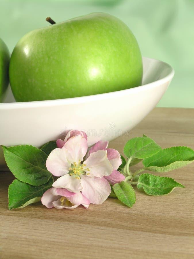 Grünen Sie Apfel stockbilder