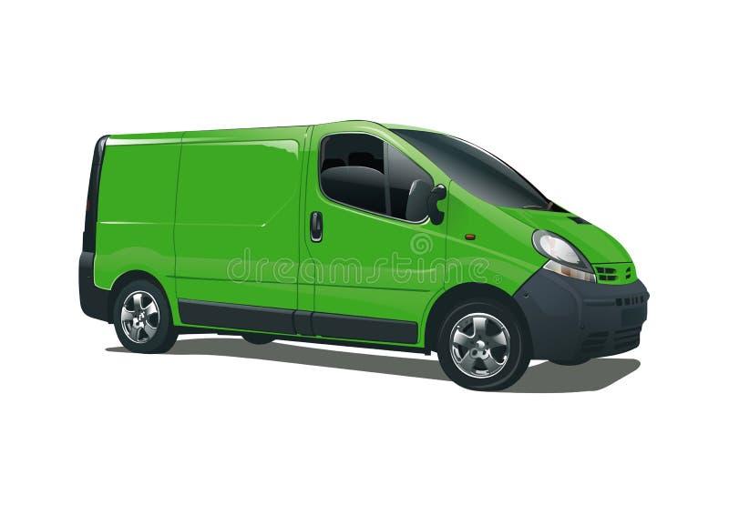 Grünen Sie Bus vektor abbildung