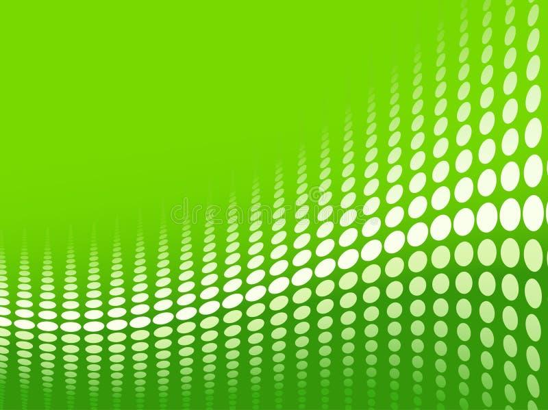 Grünen Sie Halbtonhintergrund stock abbildung