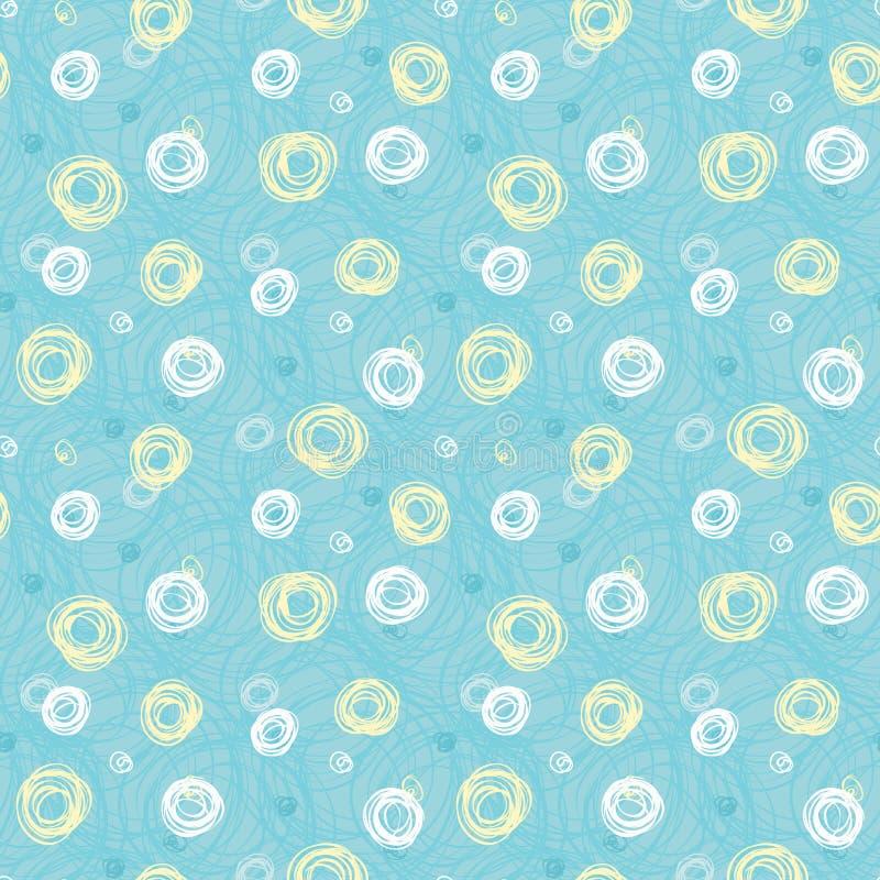 Grünen Sie nahtloses Muster #3 stock abbildung