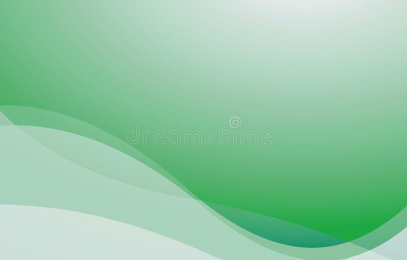 Grüner abstrakter Hintergrund lizenzfreie abbildung