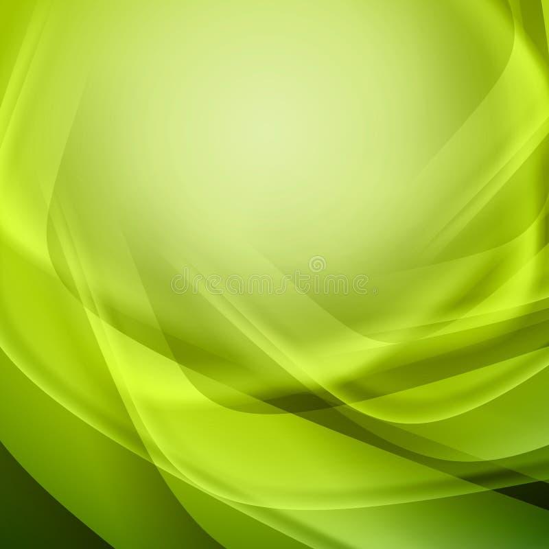 Grüner abstrakter Hintergrund vektor abbildung