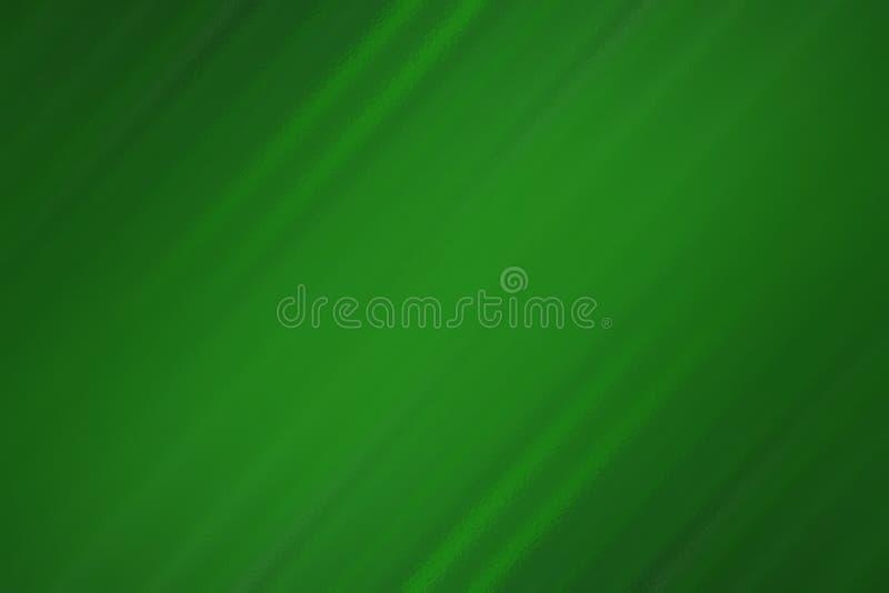 Grüner abstrakter Hintergrund mit Glasbeschaffenheit, unscharfe Musterschablone stock abbildung