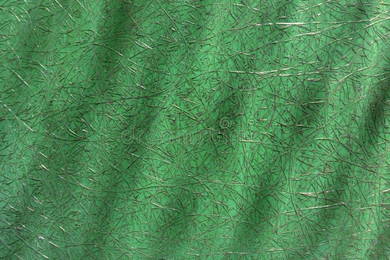 Grüner abstrakter Plastik mit Fiberglas lizenzfreies stockfoto