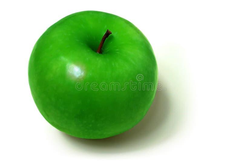 Grüner Apfel lizenzfreie stockfotografie