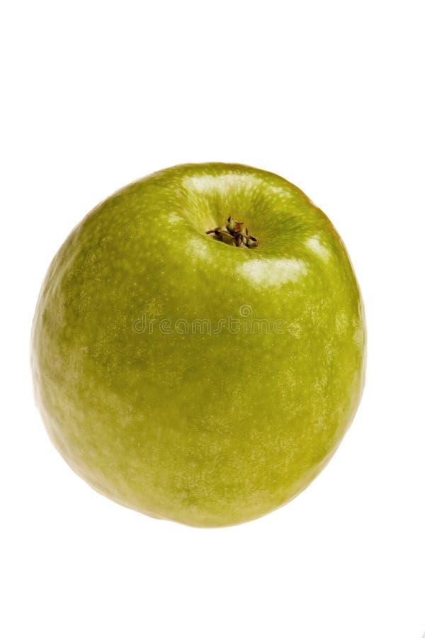 Grüner Apfel. stockfotografie