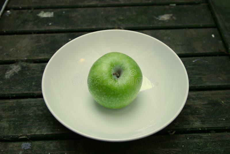 Grüner Apfel lizenzfreies stockfoto