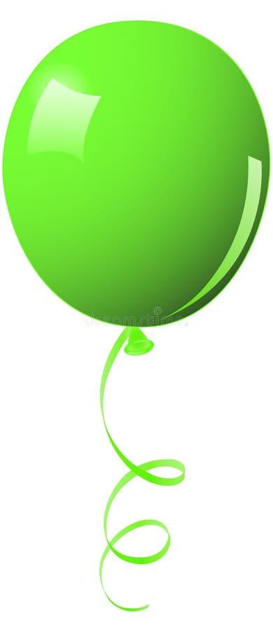 Grüner Ballon vektor abbildung