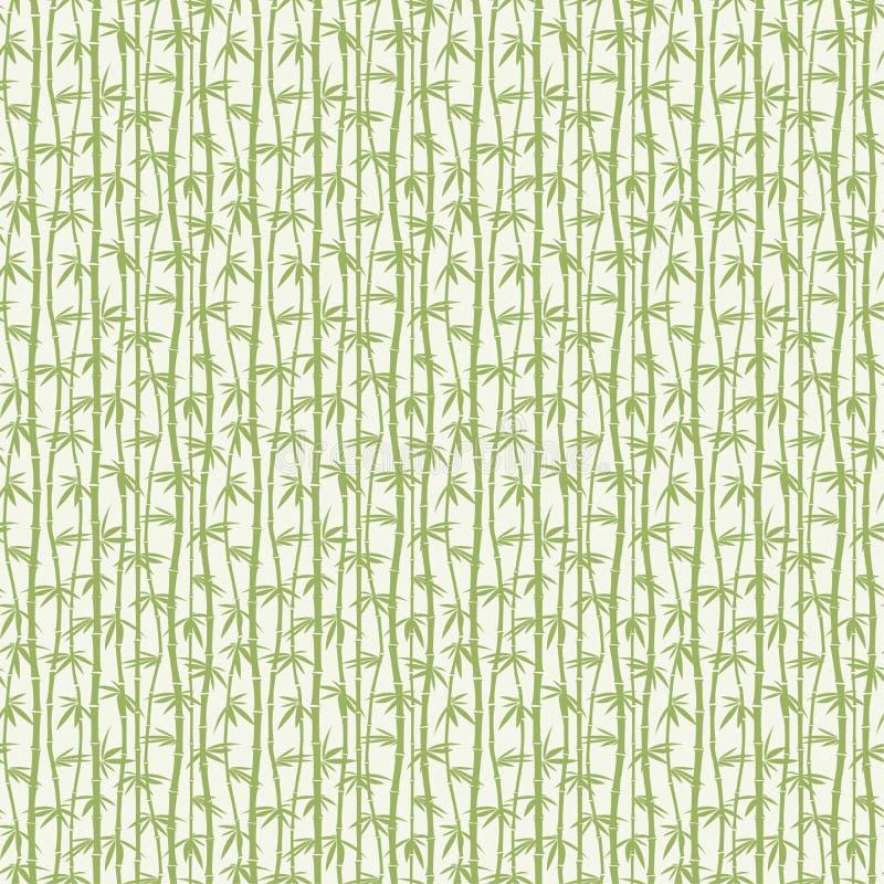 Grüner Bambus stock abbildung