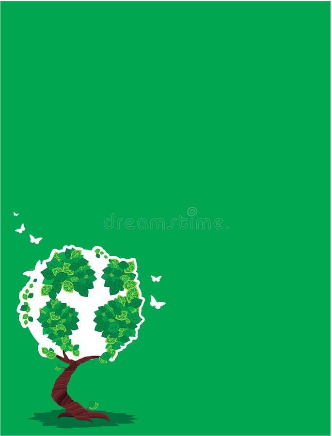 grüner Baum lizenzfreie abbildung
