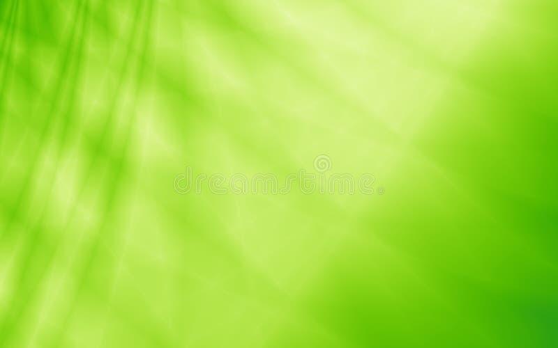 Grüner eco Blatt-Zusammenfassungshintergrund stock abbildung