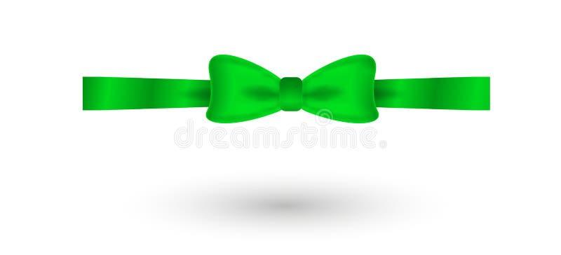 Grüner eleganter Bogen vektor abbildung