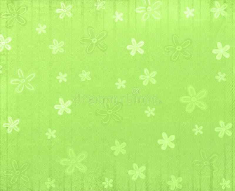 Grüner Frühlingshintergrund vektor abbildung