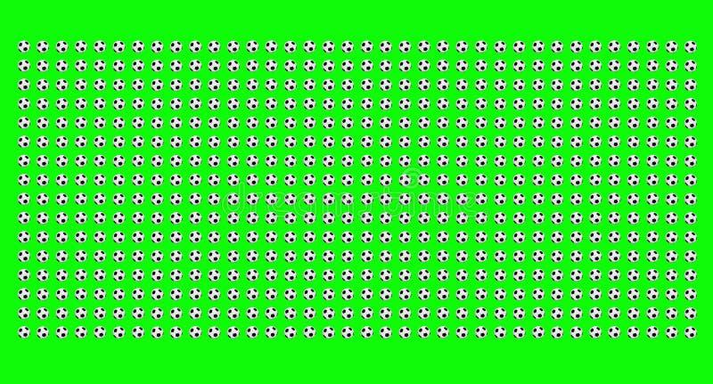 Grüner Fußballhintergrund vektor abbildung