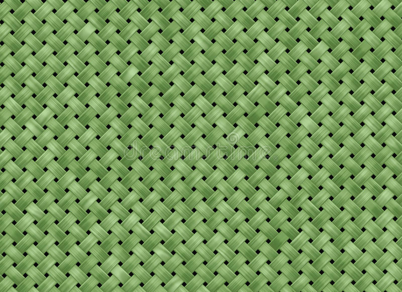 Grüner Gewebebeschaffenheitshintergrund stock abbildung
