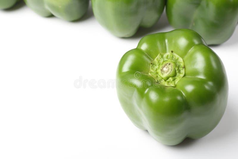 Grüner grüner Pfeffer stockbild