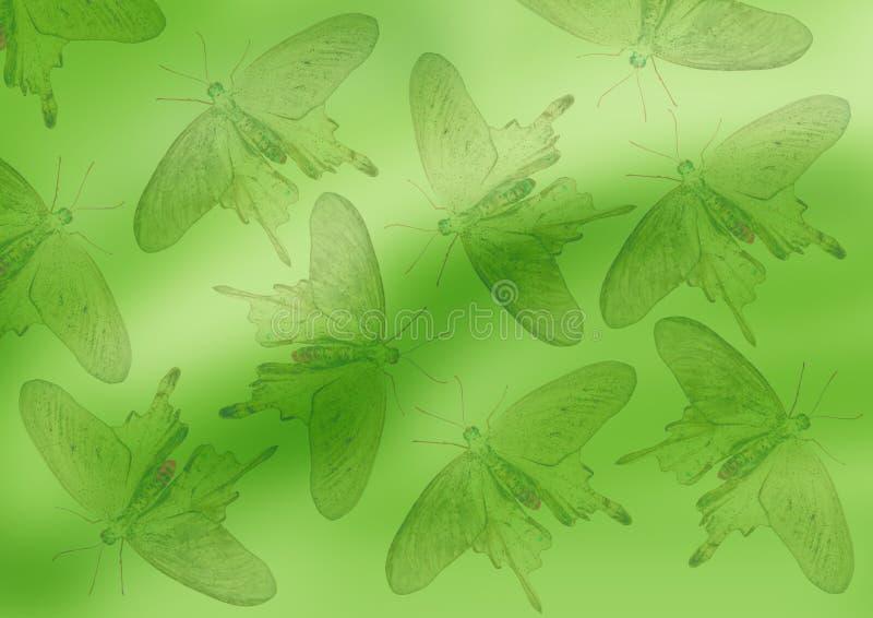 Download Grüner Hintergrund stock abbildung. Illustration von ansammlung - 9099125