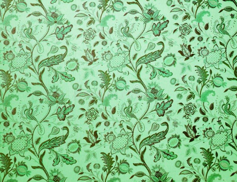 Grüner Hintergrund der Weinlese stockfotografie