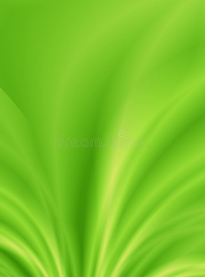 Grüner Hintergrund des Blattes stock abbildung